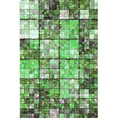 Background Of Green Squares 5.5  x 8.5  Notebooks