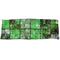 Background Of Green Squares Body Pillow Case (Dakimakura)