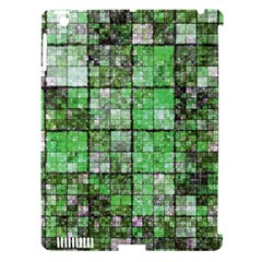 Background Of Green Squares Apple iPad 3/4 Hardshell Case (Compatible with Smart Cover)