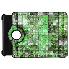 Background Of Green Squares Kindle Fire HD 7