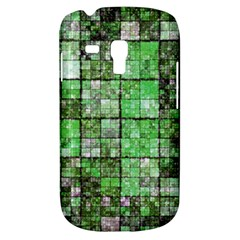 Background Of Green Squares Galaxy S3 Mini