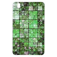 Background Of Green Squares Samsung Galaxy Tab Pro 8.4 Hardshell Case