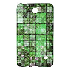 Background Of Green Squares Samsung Galaxy Tab 4 (8 ) Hardshell Case