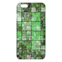Background Of Green Squares Iphone 6 Plus/6s Plus Tpu Case