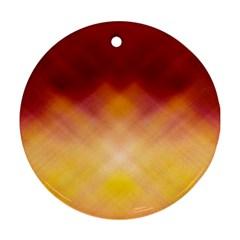 Background Textures Pattern Design Ornament (Round)