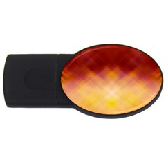 Background Textures Pattern Design USB Flash Drive Oval (2 GB)