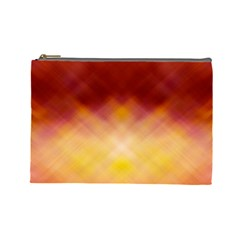 Background Textures Pattern Design Cosmetic Bag (Large)