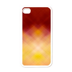 Background Textures Pattern Design Apple iPhone 4 Case (White)