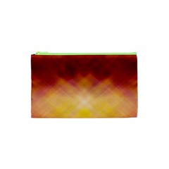 Background Textures Pattern Design Cosmetic Bag (XS)
