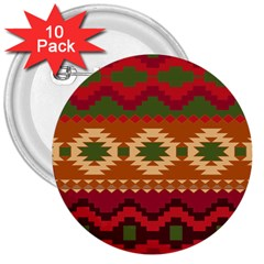 Background Plot Fashion 3  Buttons (10 pack)