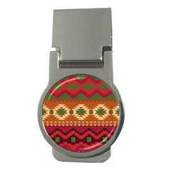 Background Plot Fashion Money Clips (Round)