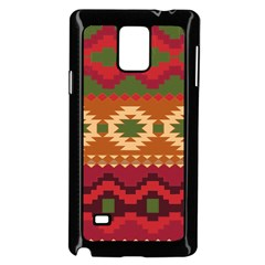 Background Plot Fashion Samsung Galaxy Note 4 Case (Black)