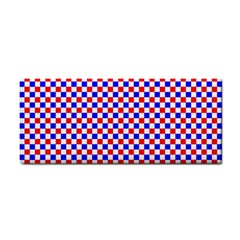 Blue Red Checkered Cosmetic Storage Cases