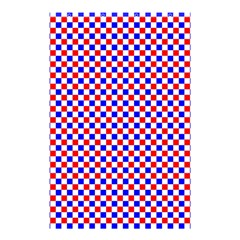 Blue Red Checkered Shower Curtain 48  x 72  (Small)