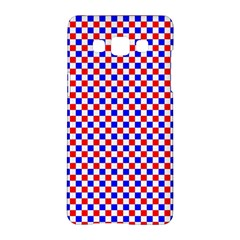 Blue Red Checkered Samsung Galaxy A5 Hardshell Case