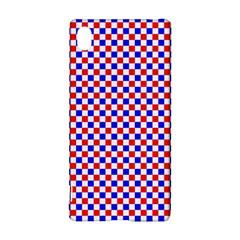 Blue Red Checkered Sony Xperia Z3+