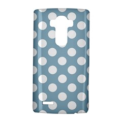 Blue Polkadot Background LG G4 Hardshell Case
