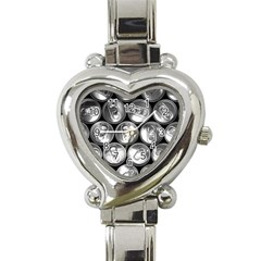 Black And White Doses Cans Fuzzy Drinks Heart Italian Charm Watch
