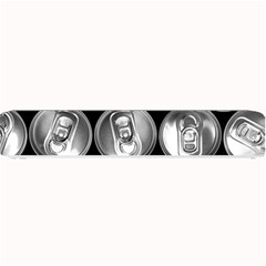 Black And White Doses Cans Fuzzy Drinks Small Bar Mats