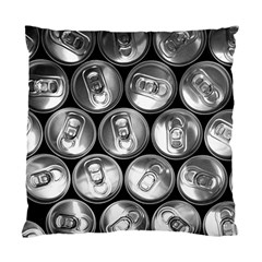 Black And White Doses Cans Fuzzy Drinks Standard Cushion Case (Two Sides)
