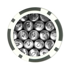 Black And White Doses Cans Fuzzy Drinks Poker Chip Card Guard (10 pack)
