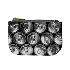 Black And White Doses Cans Fuzzy Drinks Mini Coin Purses