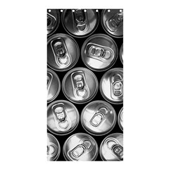 Black And White Doses Cans Fuzzy Drinks Shower Curtain 36  x 72  (Stall)