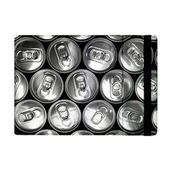 Black And White Doses Cans Fuzzy Drinks Apple iPad Mini Flip Case
