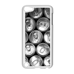 Black And White Doses Cans Fuzzy Drinks Apple iPod Touch 5 Case (White)