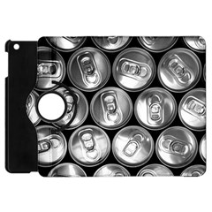 Black And White Doses Cans Fuzzy Drinks Apple iPad Mini Flip 360 Case
