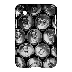 Black And White Doses Cans Fuzzy Drinks Samsung Galaxy Tab 2 (7 ) P3100 Hardshell Case