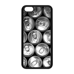Black And White Doses Cans Fuzzy Drinks Apple iPhone 5C Seamless Case (Black)
