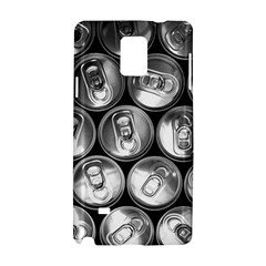 Black And White Doses Cans Fuzzy Drinks Samsung Galaxy Note 4 Hardshell Case