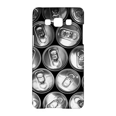 Black And White Doses Cans Fuzzy Drinks Samsung Galaxy A5 Hardshell Case