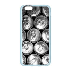 Black And White Doses Cans Fuzzy Drinks Apple Seamless iPhone 6/6S Case (Color)