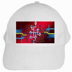 Board Circuits Trace Control Center White Cap
