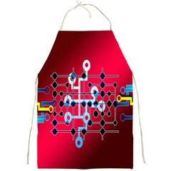 Board Circuits Trace Control Center Full Print Aprons