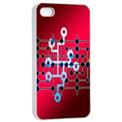 Board Circuits Trace Control Center Apple iPhone 4/4s Seamless Case (White)