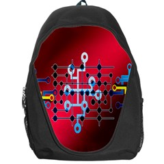 Board Circuits Trace Control Center Backpack Bag
