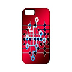 Board Circuits Trace Control Center Apple iPhone 5 Classic Hardshell Case (PC+Silicone)