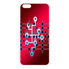 Board Circuits Trace Control Center Apple Seamless iPhone 6 Plus/6S Plus Case (Transparent)