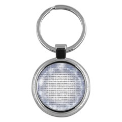 Binary Computer Technology Code Key Chains (Round)