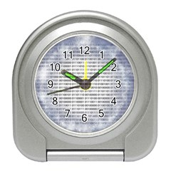 Binary Computer Technology Code Travel Alarm Clocks