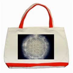 Binary Computer Technology Code Classic Tote Bag (Red)