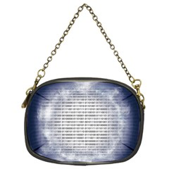 Binary Computer Technology Code Chain Purses (Two Sides)