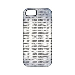 Binary Computer Technology Code Apple iPhone 5 Classic Hardshell Case (PC+Silicone)