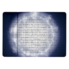 Binary Computer Technology Code Samsung Galaxy Tab 10.1  P7500 Flip Case