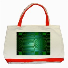 Board Conductors Circuits Classic Tote Bag (Red)