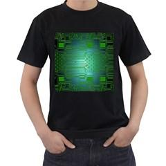 Board Conductors Circuits Men s T-Shirt (Black)