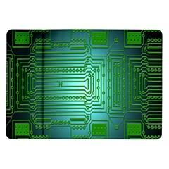 Board Conductors Circuits Samsung Galaxy Tab 10.1  P7500 Flip Case